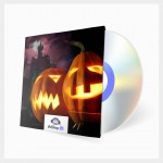 background halloween music loops