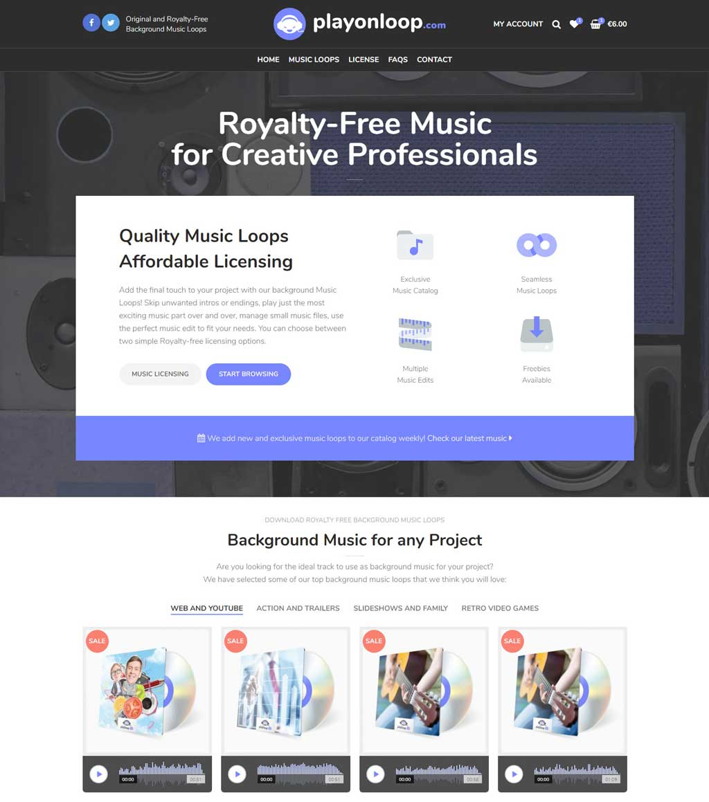 Background Music | Videos, Games, Trailers | Royalty Free