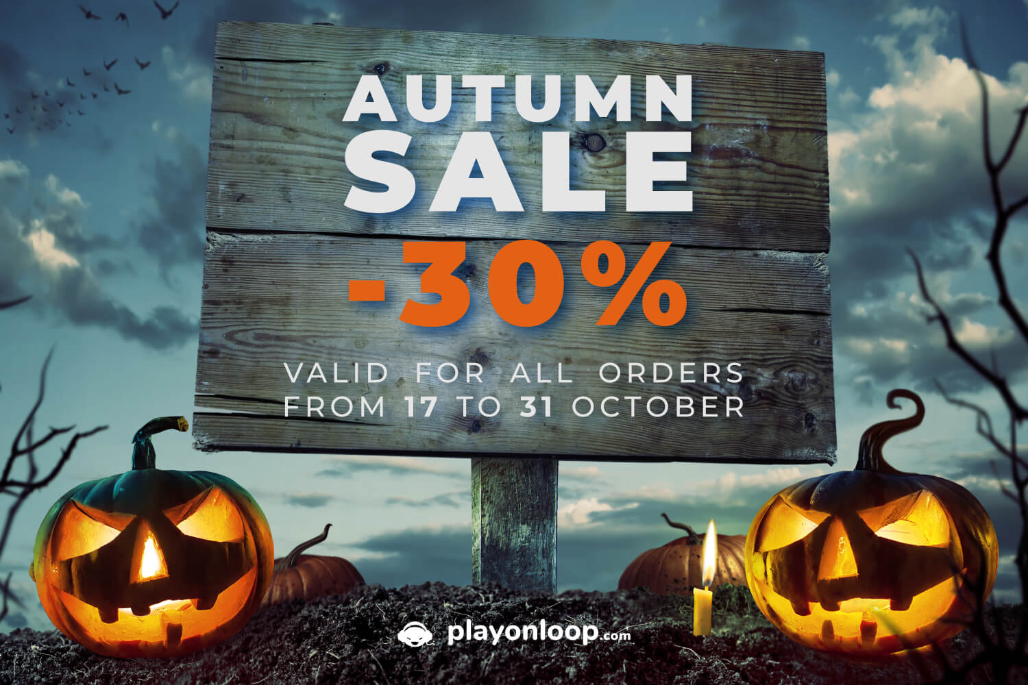 Royalty Free Halloween Music - Autumn Sale 2019