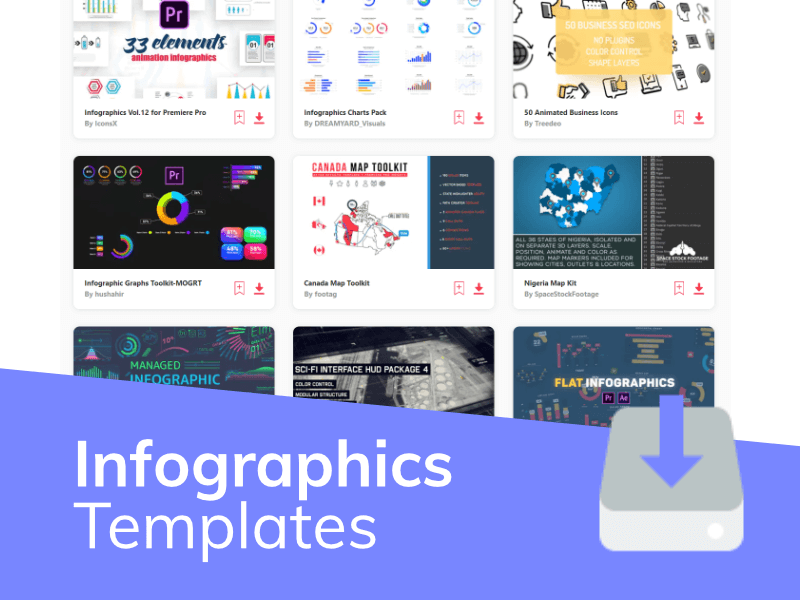 Infographics Video Templates