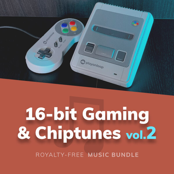 Collection of 16-bit style music tracks (aka chiptunes) inspired by retro video games