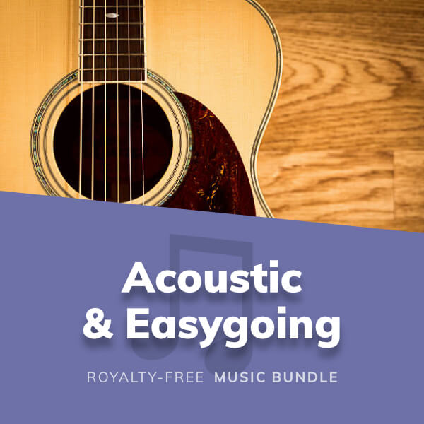 Collection of relaxed and easygoing music featuring mostly acoustic instrumets and guitars