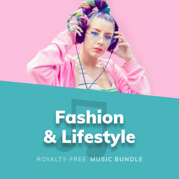 Collection of stylish background music for fashion related media and lifestyle YouTube videos