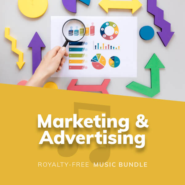A collection of positive and confident music for advertising and marketing