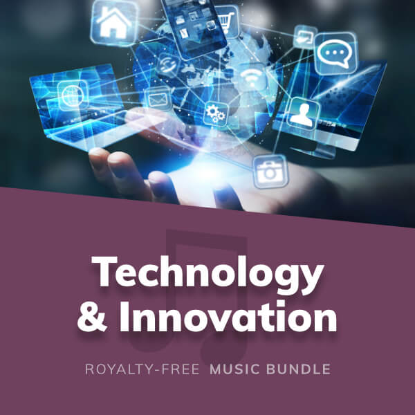 A collection of instrumental music for technology, innovation, hi-tech media